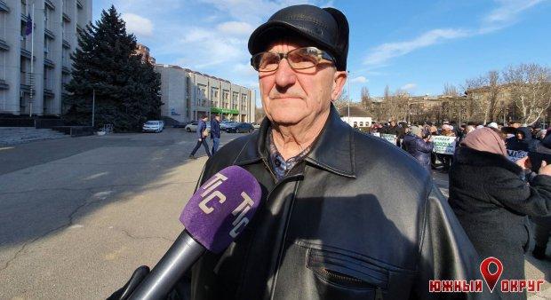 Василий Бабич, житель Сычавки