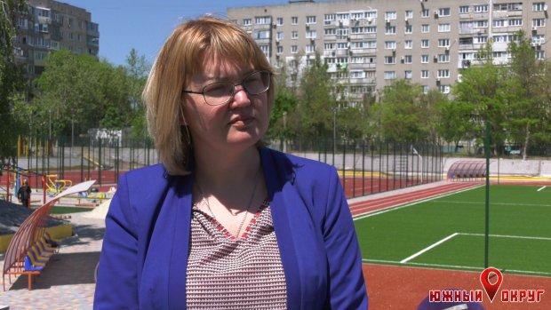 Елена Баранецкая, директор школы №1 г. Южный.