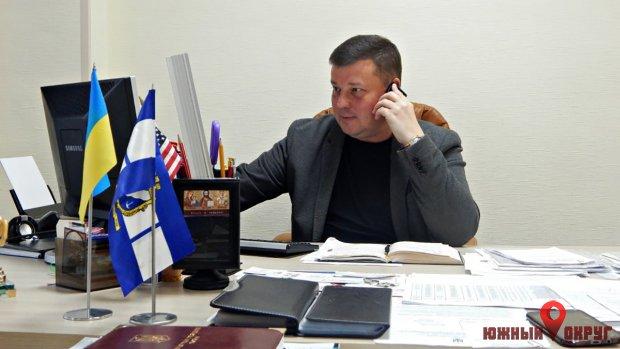 Дмитрий Любивый, заместитель городского головы и председатель комиссии.