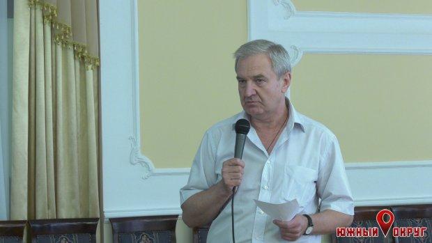 Сергей Гриневецкий, меценат, экс-губернатор Одесской области.