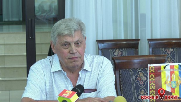 Валентин Симоненко, автор книги «Одесский набат», экс-мэр Одессы.