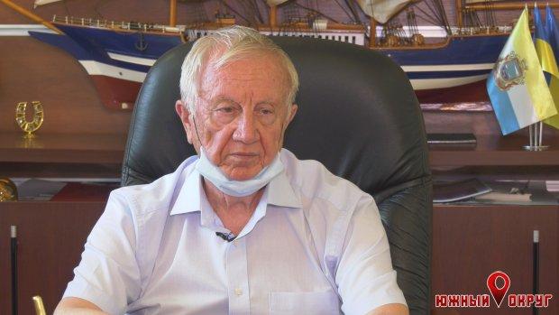 Валерий Хмельнюк, Черноморский городской голова.