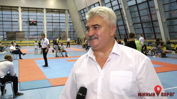 Виталий Алайбов, президент Федерации кикбоксинга Одесской области, вице-президент Федерации кикбоксинга Украины WAKO.