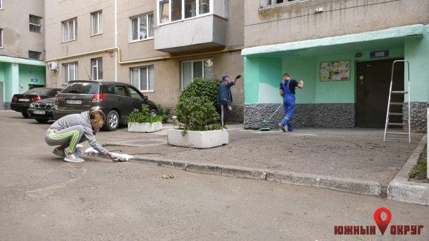 ВЮжном жители ОСМД провели День двора (фото)