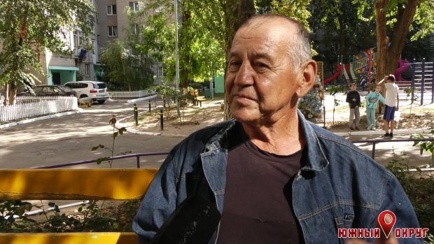 Геннадий Танцирев, житель дома поулице Строителей, 9