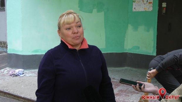 Марьяна Соловьева, жительница дома поулице Строителей, 9