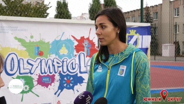 Алина Логвиненко, титулованная украинская легкоатлетка.