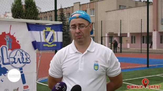 Влад Ефимов, пресс-атташе отделения НОК Украины вОдесской области.