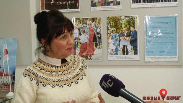 Наталья Черкашенко, сотрудница Южненского городского музея