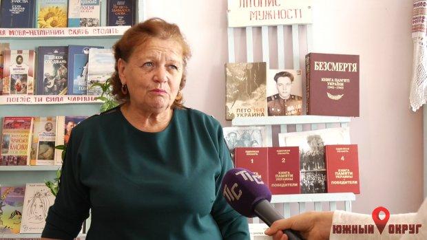Любовь Дяченко, первый директор сычавского ДК.