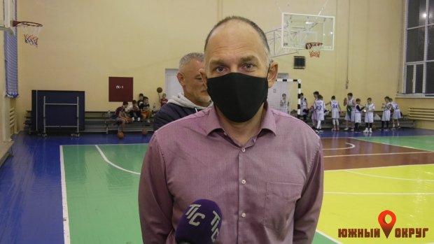 Александр Голиков, директор ЮДЮСШ.