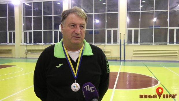Владимир Понько, тренер-преподаватель ЮДЮСШ побаскетболу.