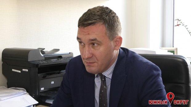 Сергей Оришака, начальник управления архитектуры Южненского горсовета.