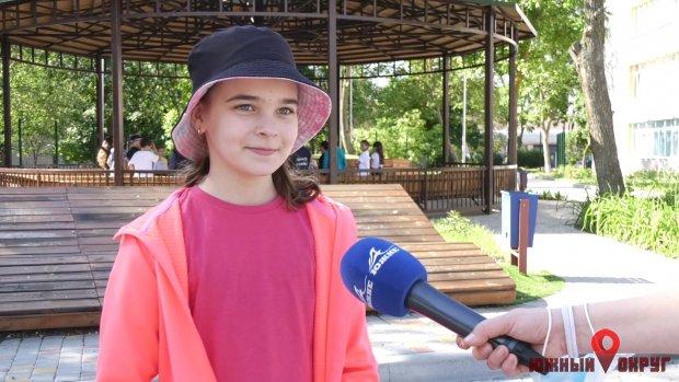 Лилия, ученица 5-го класса ООШ №1.