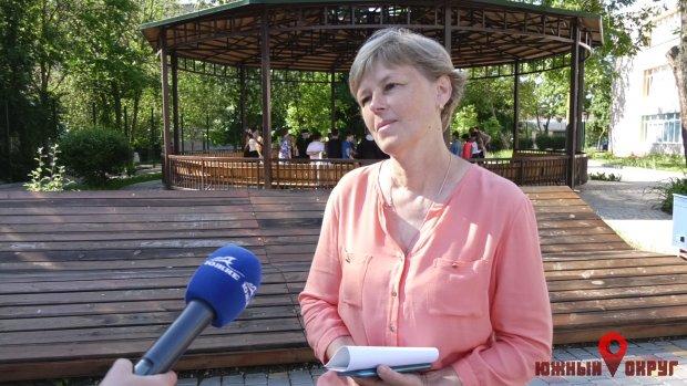 Ольга Дмитриева, заместитель директора ООШ №1.