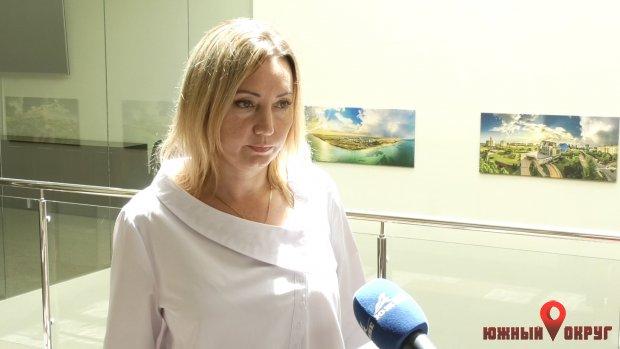Наталья Гнеушева, начальник управления экономики.