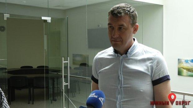 Сергей Оришака, начальник управления архитектуры.