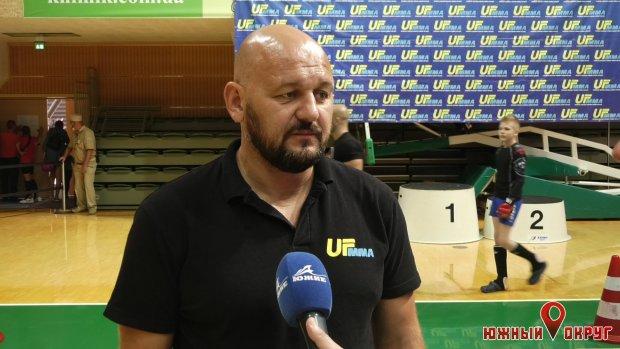 Владимир Шемаров, главный судья UFММА.